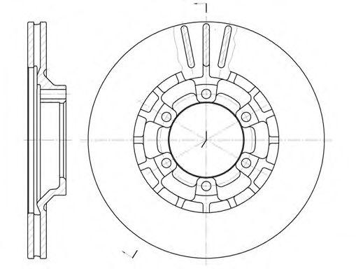 kit  2  discos de freno para mitsubishi pajero    montero 2